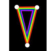 Rainbow dagger  Photographic Print