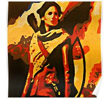 Katniss Everdeen from The Hunger Games Poster