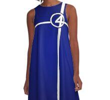 Marvelously Fantastic A-Line Dress