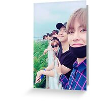 BTS - Notebook Greeting Card