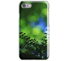 Privet With Sycamore & Sky - Vintage Lens iPhone Case/Skin