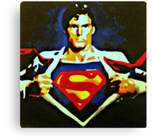 Becoming Superman Canvas Print