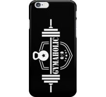 Gymaholic Gym Addiction T Shirt iPhone Case/Skin