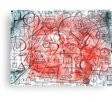 Mind of a Genius Metal Print