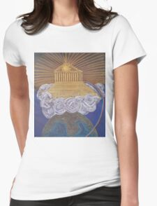 Mount Olympus Womens Fitted T-Shirt