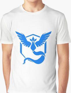 TEAM BLUE POKEMON GO Graphic T-Shirt