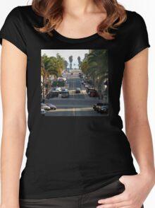 California Street Women's Fitted Scoop T-Shirt
