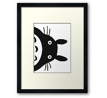 Surprise,Totoro! Framed Print