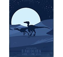 Raptors-Swift Dune Seas of Djadochta Photographic Print