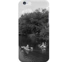 Patriotic Kayakers iPhone Case/Skin