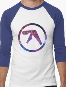 Aphex Twin Space Logo  Men's Baseball ¾ T-Shirt