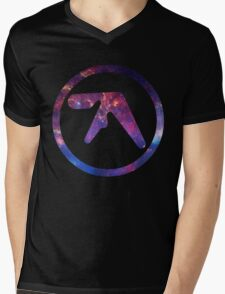 Aphex Twin Space Logo  Mens V-Neck T-Shirt