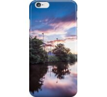 Sunset on the Canal iPhone Case/Skin