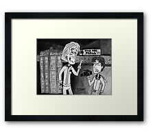 Back To WHOS Future Framed Print