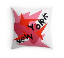New York Throw Pillow B Throw Pillow