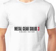 Metal Gear Solid 3: Snake Eater Logo Unisex T-Shirt