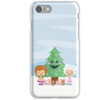 Happy Christmas Tree iPhone Case/Skin