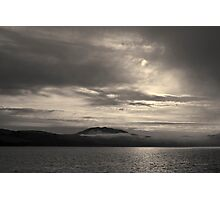 Tomales Bay II Toned Photographic Print