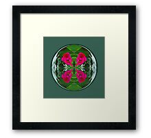 Flower Globe Framed Print