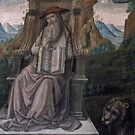 St Jerome c1494  Raphael and Father Vatican Museum Rome 19840723 0044 by Fred Mitchell