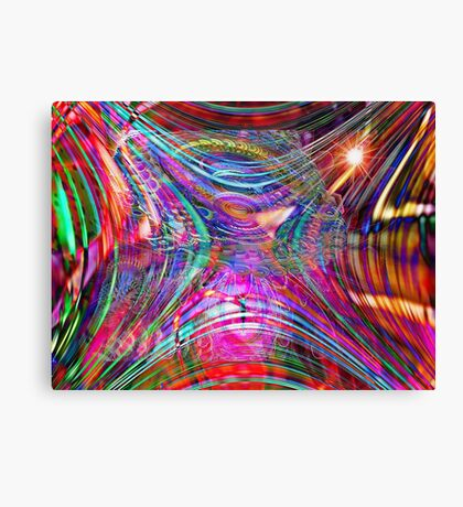Four Layer Blend: Shimmer Canvas Print