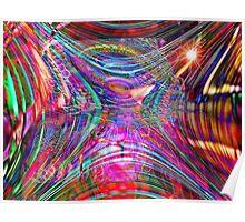 Four Layer Blend: Shimmer Poster