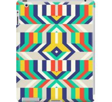 Colorful op art pattern iPad Case/Skin