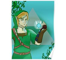 Link and Navi Poster