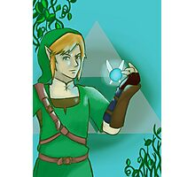 Link and Navi Photographic Print