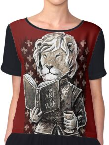 A Lion Mind Chiffon Top