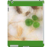 Clover on Quartz iPad Case/Skin