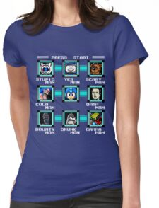 Megaman Multiverse Womens Fitted T-Shirt