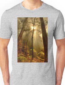 Afternoon mist, Mount Buffalo Unisex T-Shirt
