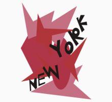 New York Throw Pillow B Kids Tee