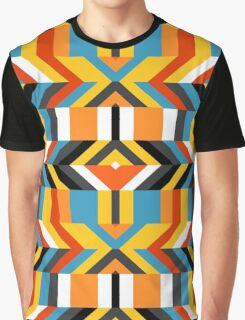 Colorful op art pattern Graphic T-Shirt