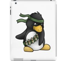 Commando Penguin iPad Case/Skin