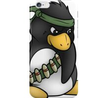 Commando Penguin iPhone Case/Skin