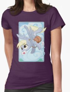 Derpy Mail Womens Fitted T-Shirt
