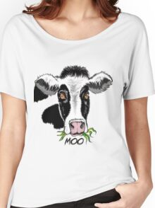 Moo Women's Relaxed Fit T-Shirt