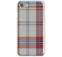 01065 Confederate Memorial Dress Military Tartan  iPhone Case/Skin