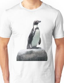 Penguin on a Rock Unisex T-Shirt