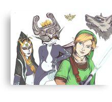 Zelda: Twilight Princess Fan Art Canvas Print