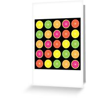 Citrus burst Greeting Card