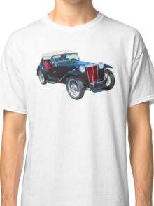 Black Mg Tc Antique Car Classic T-Shirt