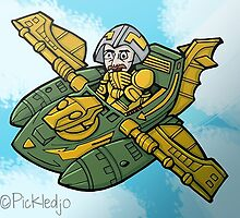 Man-At-Arms Masters of the Universe by pickledjo