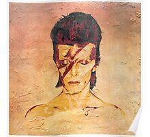 Aladdin Sane 'Rock Art' Album Cover Poster