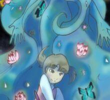 Nanako and Gaia Sticker