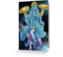 Nanako and Gaia Greeting Card