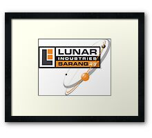 Lunar Industries Framed Print