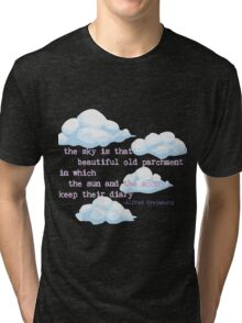 The Sky is a Diary Tri-blend T-Shirt